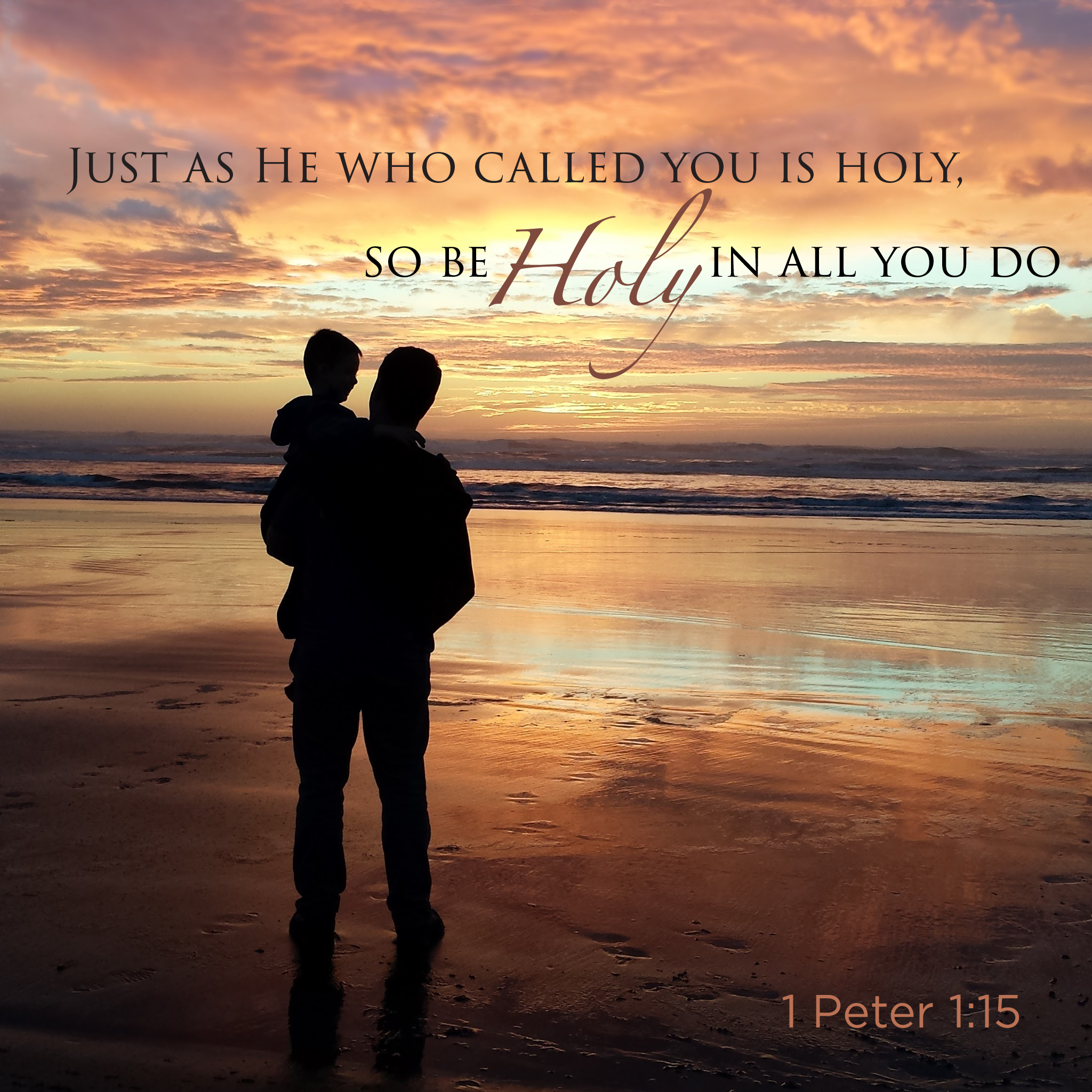 1 Peter 1:15 scripture picture