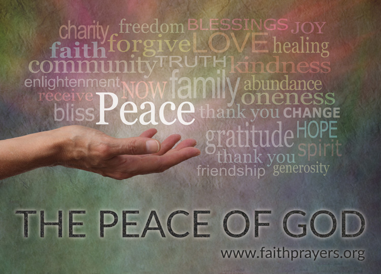 The Peace of God - Graphic